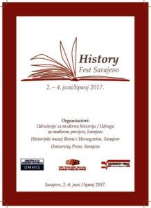 thumbnail of Program History Fest Sarajevo
